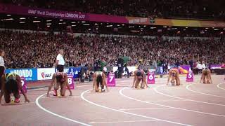 Dafne Schippers wins 200m Women Semifinal 1 IAAF World Champs London 2017
