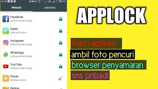 cara mengunci aplikasi android supaya aman screenshot 5