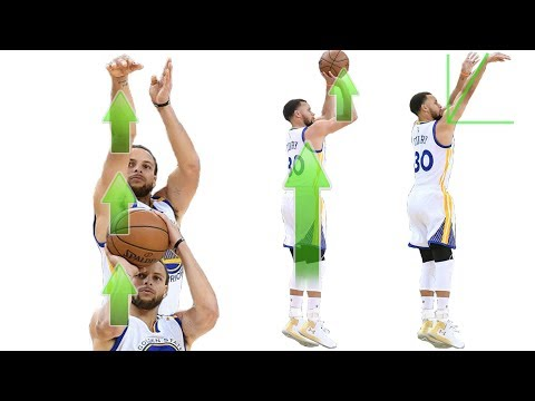Stephen Curry Shooting Form Straight Force Theory Secret Analytics