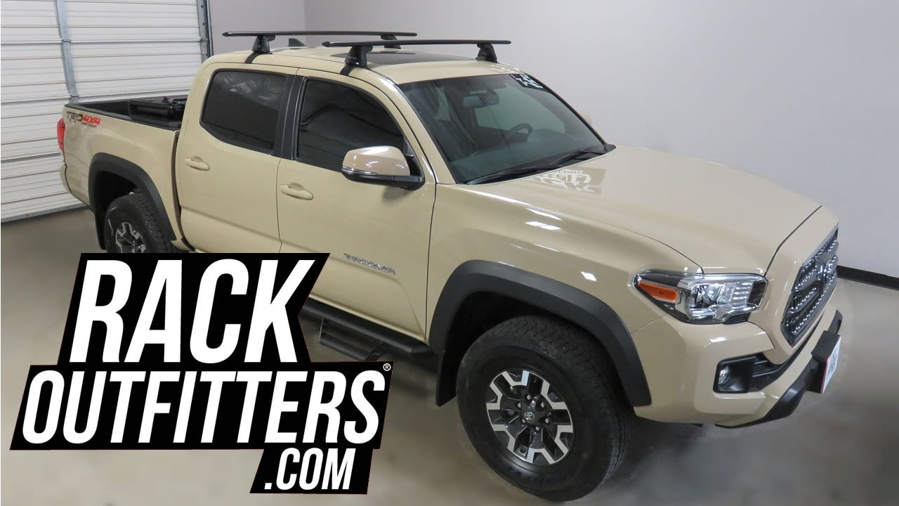 Toyota Tacoma Doublecab With Yakima Baseline Jetstream Roof Rack