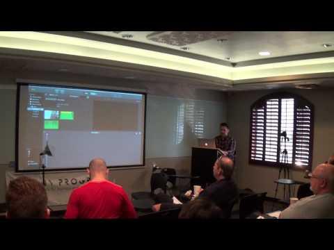 December SEO Meetup - Shooting a Video with an iPhone and DIY lighting kit
