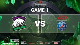 TI8 Mainstage | VP vs LGD Game 1 | Caster: Mybone ft. Trungg Anh
