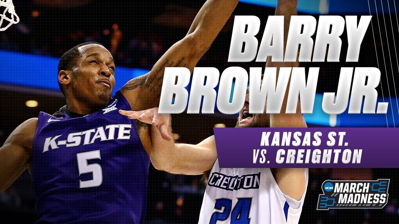 Kansas St. vs. Creighton: Barry Brown Jr. pushes the Wildcats to victory in the First Round