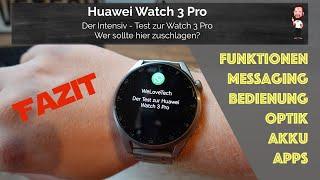 Huawei Watch 3 Pro | Der ultimative Test zum Huawei Smartwatch Flaggschiff