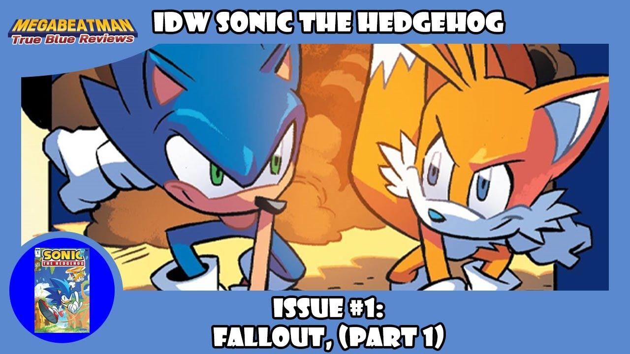 Idw Sonic The Hedgehog 1 A Comic Review By Megabeatman