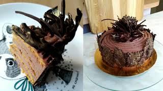 Торт Молочная девочка с кремом Шоколадный пломбир необыкновенный вкус