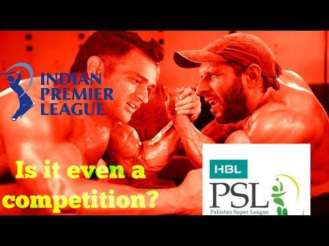 IPL vs Pakistan Super League