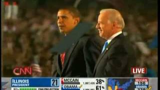 Barack Obama: The Amazing Moments After The Election Night Victory Speech