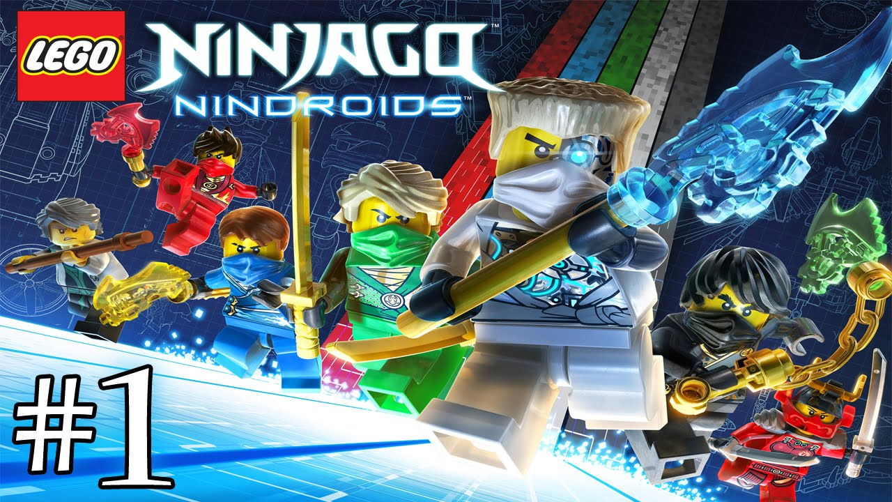 Lego Ninjago Nindroids Fr 1 Youtube
