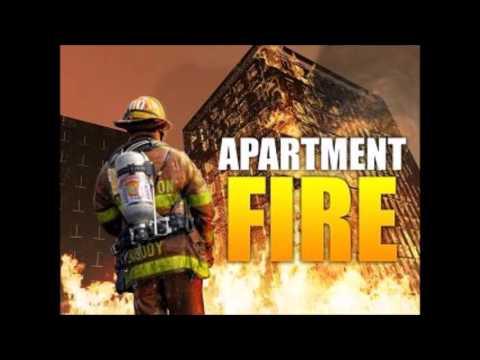 Sunridge Apartment Fire Flint Twp, MI