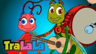 Greierele şi furnica - Cântece pentru copii | TraLaLa