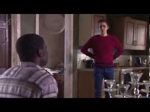 Hollyoaks February 18th 2014 (Vincent Exits)