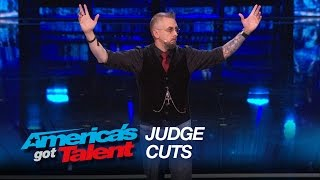 Aiden Sinclair: Magician Blows the Judges' Minds - America's Got Talent 2015