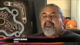 WIRADJURI ARTIST LEWIS BURNS INSPIRES DUBBO YOUTH TO AIM HIGH