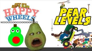 Pear Plays - Happy Wheels: PEAR LEVELS!