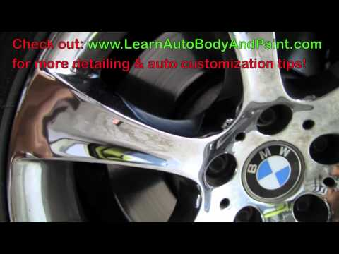 NEW How To Clean Chrome - Cleaning Chrome Rims _ Car Parts