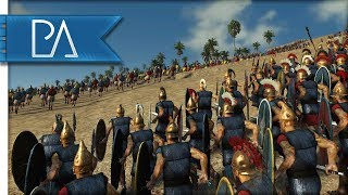 Great Lusitani Ambush: Athens Surrounded - Total War: Rome 2 Gameplay