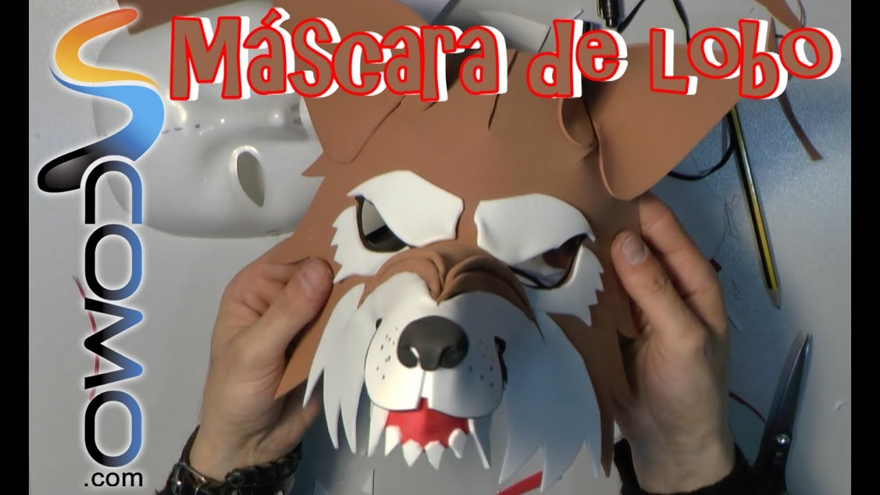 Fabricar Una Careta De Lobo 22 Youtube