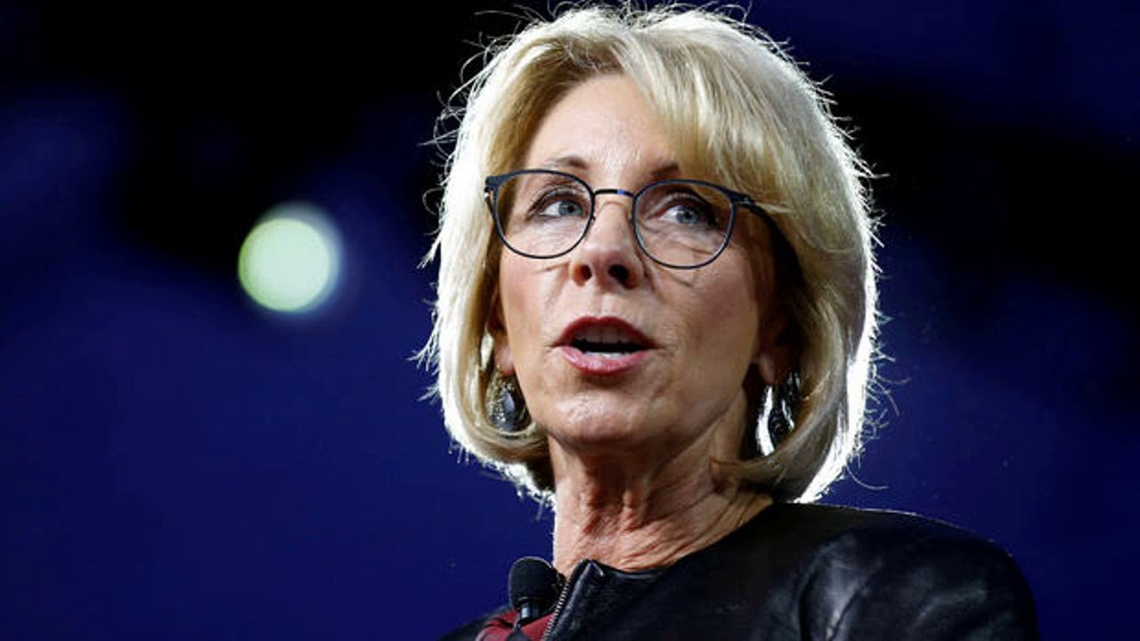 "DeVos says her ""heart is with"" Dreamers"