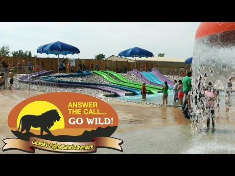 African Lion Safari Splash Pad Water Park and Zoo Canada