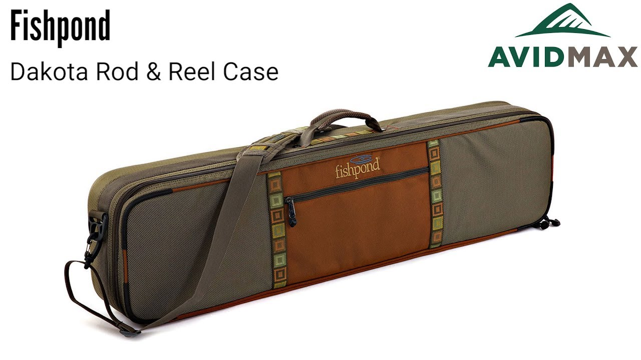 Color FREE SHIPPING! Granite Fishpond Dakota Carry On Rod and Reel Case