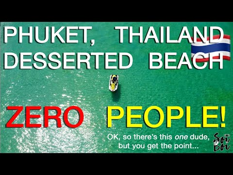 ZERO PEOPLE - Kata Karon Beach, Phuket Drone and Chill