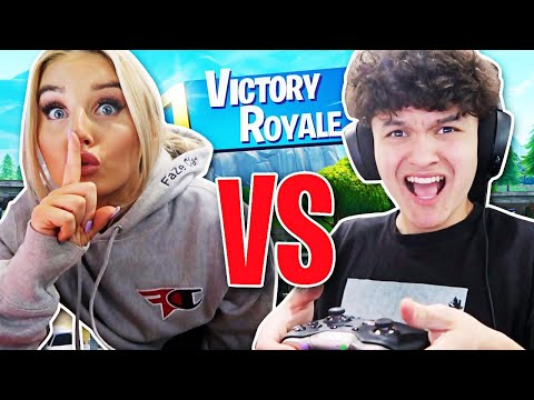 FaZe Jarvis VS FaZe Kay & Girlfriend (1V1 FORTNITE) PRANK!!