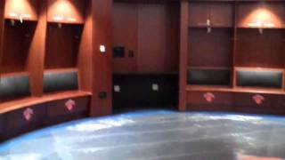 Madison Square Garden: Knicks locker room