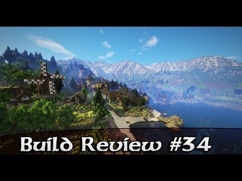 "Build Review 34: Kurgahn_ - Medieval Town ""Himfales"""