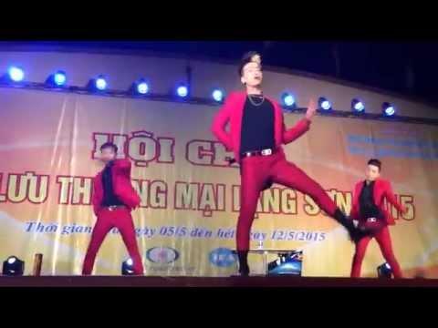 HKT nhảy cực sung tại Hội Chợ - Tiếng Chày Trên Sóc Bom Bo