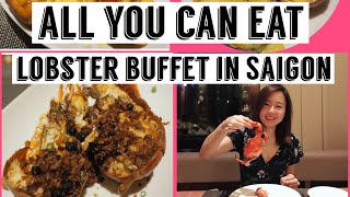 Lobster buffet at Nikko hotel Saigon! Unlimited lobster, wine and beer 胡志明市龙虾吃到饱