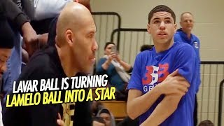 LaVar Ball is Turning LaMelo Ball into a STAR! Melo goes OFF Shuts up HECKLERS