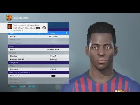 PES2019 FACES DEMBELE