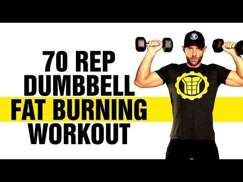 70 Rep Full Body Fat Burning Home Workout - Lose Fat and Get 6 Pack Abs - Sixpackfactory
