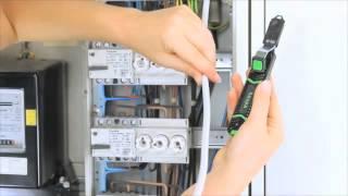Видео инструмента для снятия оболочки на всех распространенных типах кабелей haupa.spb.ru(, 2013-11-16T17:20:57.000Z)