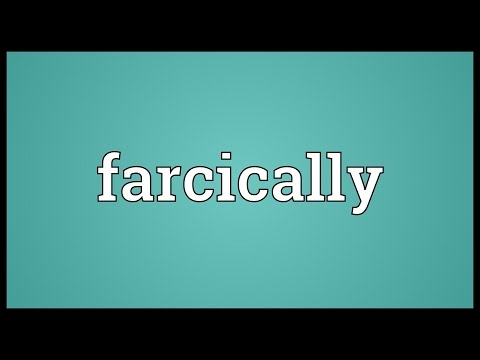 Header of farcically