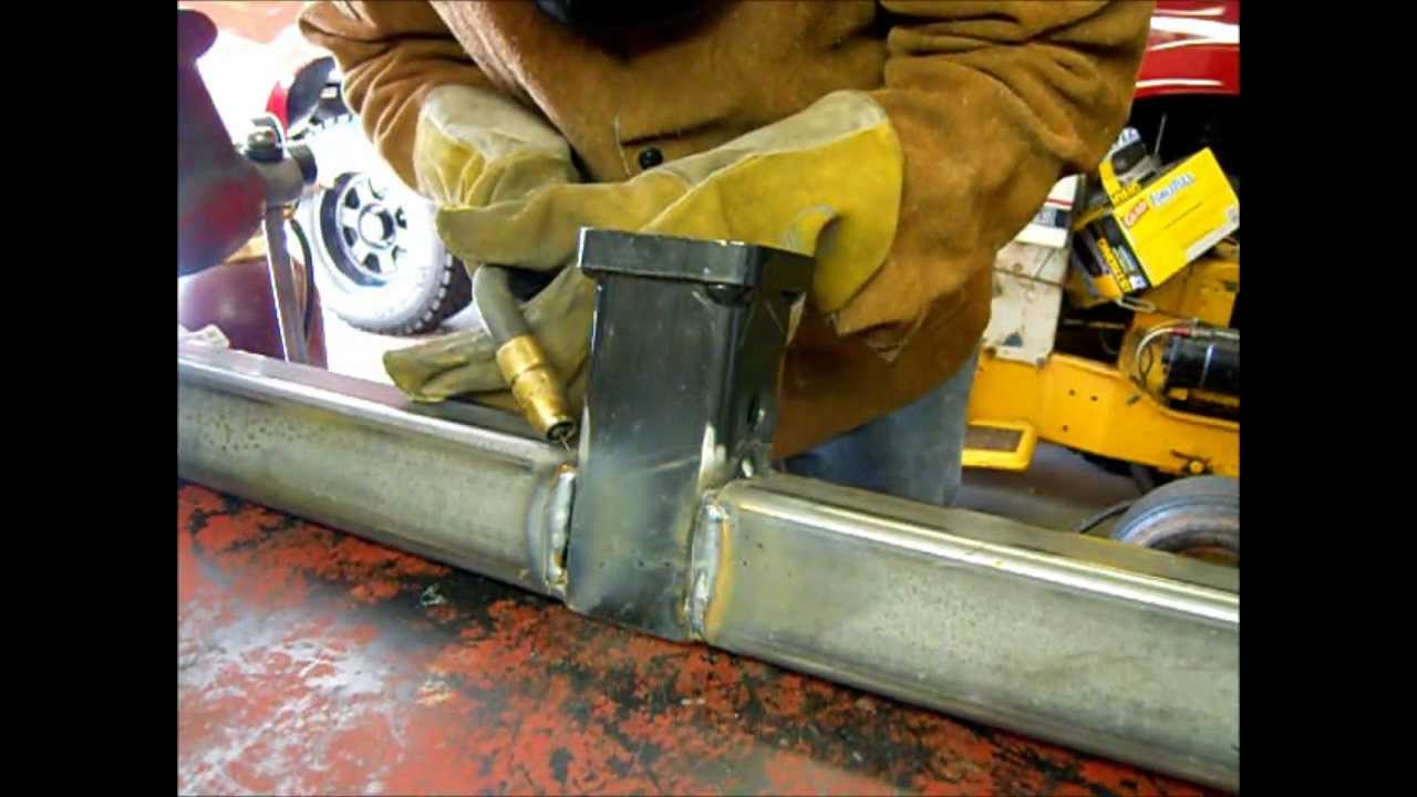 Dodge Ram front mount hitch build Part 2 - YouTube