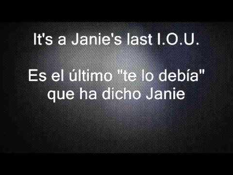 Janie's got a gun - Aerosmith  lyrics