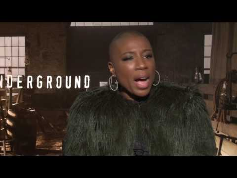 Aisha Hinds and Anthony Hemingway interview Underground Season 2