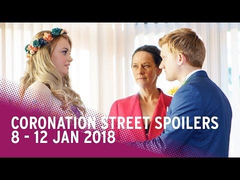 Coronation Street spoilers: 8-12 January 2018 - Corrie
