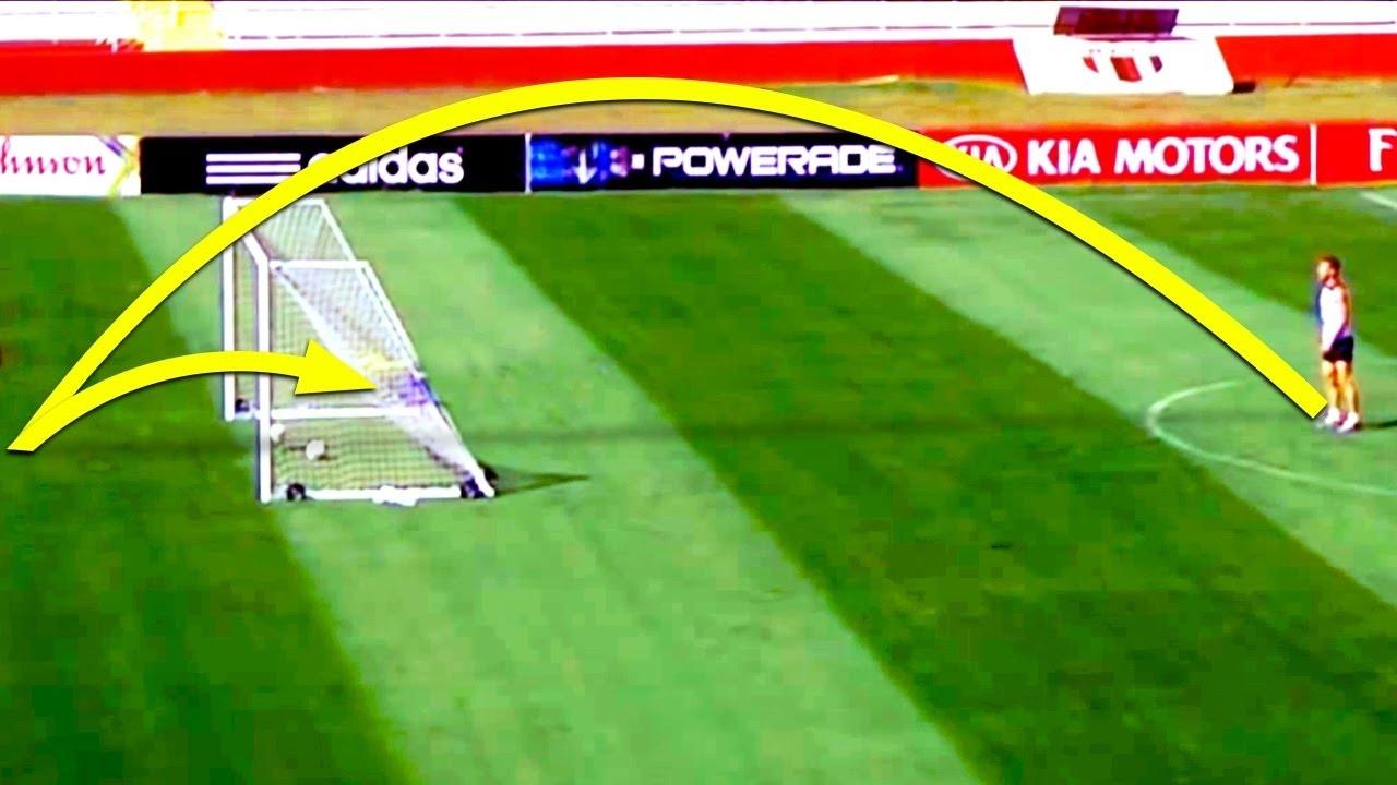 Golazos Desde Atrás Del Arco ● Goals Scored From Behind The Goal