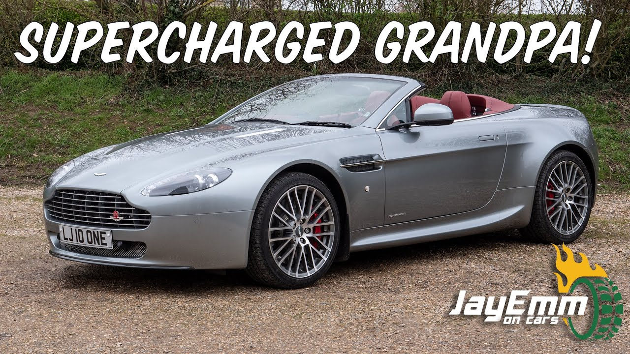Joe S Retirement Gift A Supercharged 600hp Aston Martin V8 Vantage With A Twist Youtube