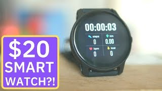 Cheapest Smartwatch of  2019: Is the $20 Senbono S08 any Good?