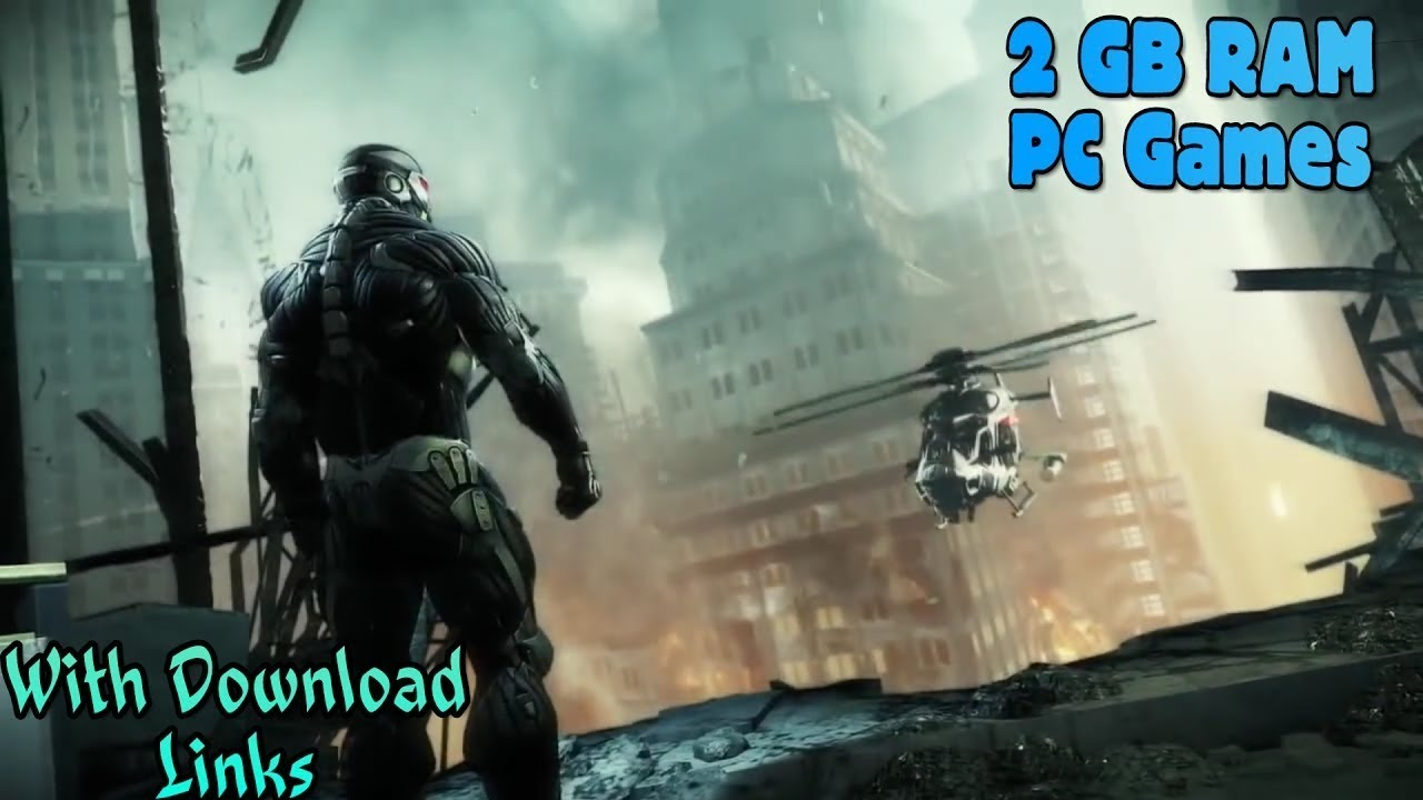 Top 10 Games For 2GB RAM PC | Without Graphic Card