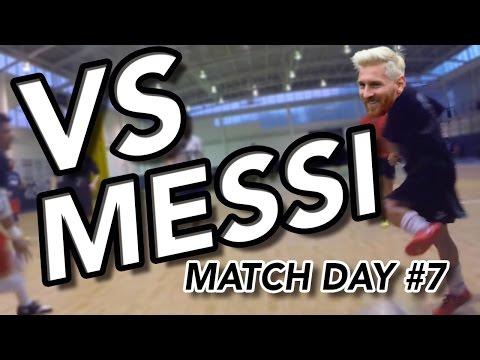 """Match Day #7 """"VERSUS MESSI"""" - Goalkeeper Futsal GoPro Indoor Soccer"""