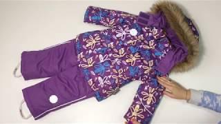 ВИДЕООБЗОР Зимний комплект для девочек NIKASTYLE из мембранной ткани