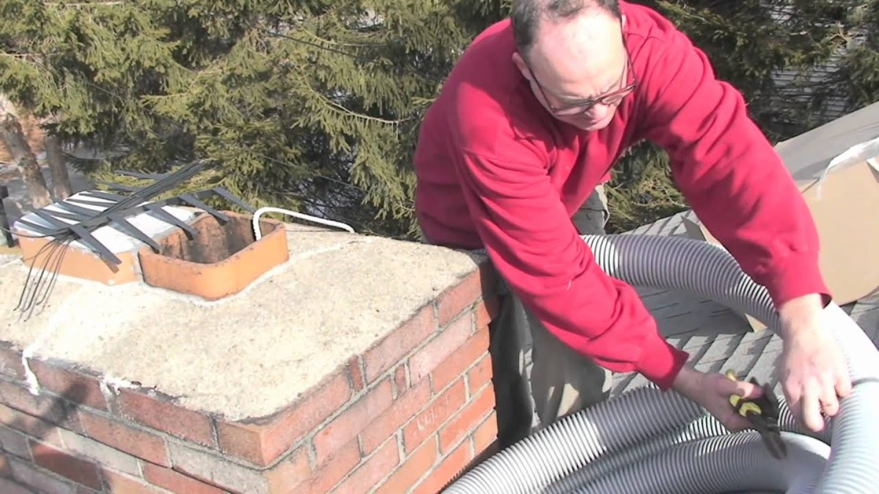 B venting a hot water heater - Htp S Easy Flex Polypro Vent Systemfor Venting Boiler Or Water Heater Exhaust Up Chimneys Youtube