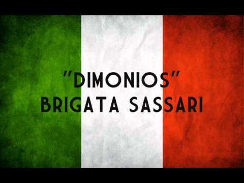 """""""Dimonios""""-Inno della Brigata Sassari"""