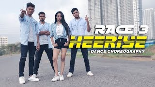 Heeriye Dance Video - Race 3 | Salman Khan, Jacqueline | Dance Choreography || Team Fraction