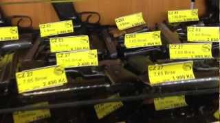 Оружейный магазин в Праге (Чехия) Zbraně Brymová s.r.o.